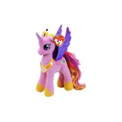 Maskotka TY INC My Little Pony Księżniczka Cadence. Różowe przytulanki i maskotki marki TY INC, z materiału. Za 29,99 zł.