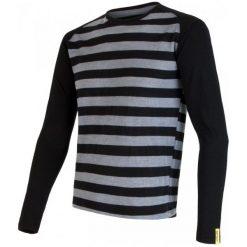 Sensor Bluzka Merino Wool Active M Black Stripes Xl. Niebieskie odzież termoaktywna męska marki Oakley, na lato, z bawełny, eleganckie. Za 209,00 zł.