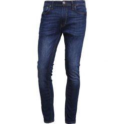 Rurki męskie: Jack & Jones JJILIAM JJORIGINAL Jeans Skinny Fit blue denim
