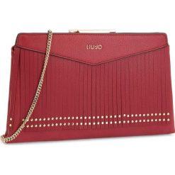 Torebka LIU JO - S Pochette Brera N68191 E0031 Red 91656. Czerwone torebki klasyczne damskie marki Liu Jo, ze skóry ekologicznej. Za 469,00 zł.