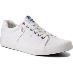 Tenisówki BIG STAR - AA174097A White. Białe tenisówki męskie BIG STAR, z gumy. Za 99,00 zł.