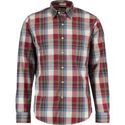 Koszule męskie na spinki: DOCKERS LAUNDERED POPLIN SLIM FIT Koszula stout/oxblood red