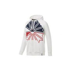 Bluzy Reebok Classic  Bluza z kapturem  Starcrest. Białe bluzy męskie Reebok Classic, l, z kapturem. Za 279,00 zł.