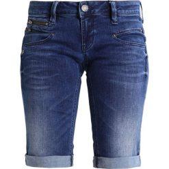 Bermudy damskie: Freeman T. Porter BELIXA  Szorty jeansowe flexy indigo