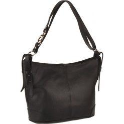 Torebki klasyczne damskie: Skórzana torebka w kolorze czarnym – 30 x 25 x 16 cm