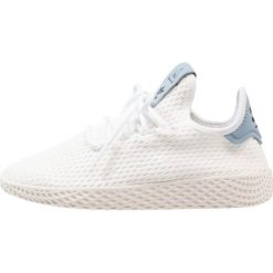 Adidas Originals PW TENNIS HU Tenisówki i Trampki footwear white/tactile blue. Białe tenisówki męskie adidas Originals, z materiału. W wyprzedaży za 246,75 zł.