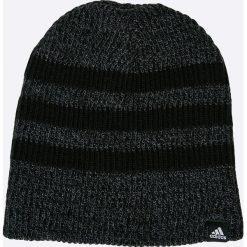 Adidas Performance - Czapka. Czarne czapki zimowe męskie adidas Performance, z dzianiny. W wyprzedaży za 49,90 zł.