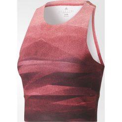 Bluzki damskie: Adidas Koszulka damska Crop Graph MLG czerwona r. XS (BQ5854)