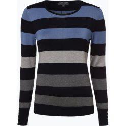 Marie Lund - Sweter damski, niebieski. Niebieskie swetry klasyczne damskie Marie Lund, l, z dzianiny. Za 99,95 zł.