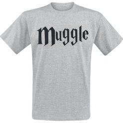 T-shirty męskie z nadrukiem: Harry Potter Muggle T-Shirt odcienie jasnoszarego