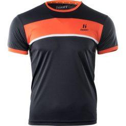 Huari Koszulka męska Qwest Black Pirate/Red Orange r. L. Czarne koszulki sportowe męskie Huari, l. Za 31,03 zł.