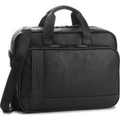 Torba na laptopa LANETTI - RM0804 Black. Czarne torby na laptopa marki Lanetti, ze skóry ekologicznej. Za 149,99 zł.