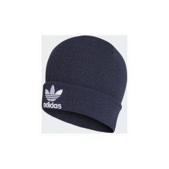 Czapki adidas  Czapka beanie Trefoil. Niebieskie czapki zimowe damskie Adidas. Za 89,95 zł.