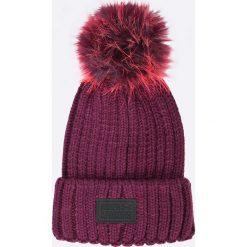 Under Armour - Czapka. Brązowe czapki zimowe damskie Under Armour, na zimę, z dzianiny. Za 159,90 zł.
