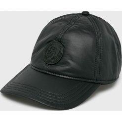 Diesel - Czapka. Czarne czapki z daszkiem męskie Diesel, z poliamidu. Za 269,90 zł.