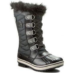 Kozaki dziewczęce: Śniegowce SOREL – Youth Tofino II NY2419 Black/Quarry 010