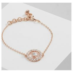 Bransoletki damskie: Ted Baker COLESSE CONCENTRIC Bransoletka rose goldcoloured/crystal