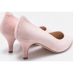Solo Femme - Czółenka. Czarne buty ślubne damskie marki Mohito, na obcasie. W wyprzedaży za 219,90 zł.