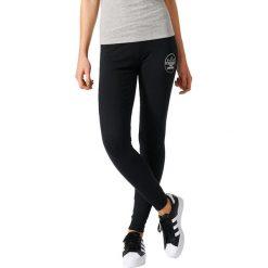 Adidas Originals Legginsy czarne r. XS (BK5810). Brązowe legginsy sportowe damskie marki adidas Originals, z bawełny. Za 119,00 zł.