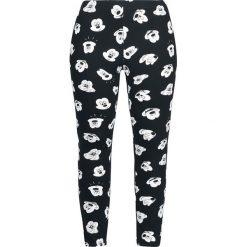 Spodnie damskie: Myszka Miki i Minnie Expressions Legginsy czarny/biały