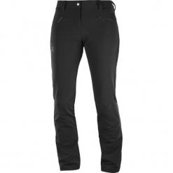 Salomon Spodnie Softshellowe Damskie Wayfarer Warm Pant W Black 42/R. Czarne spodnie sportowe damskie Salomon. Za 375,00 zł.
