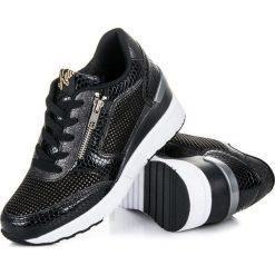 Buty ślubne damskie: Buty sportowe na koturnie EMELY