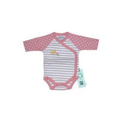Ebi & Ebi  Body dziecięce Fairtrade Wiewiórka, różowy. Czerwone body niemowlęce Ebi & Ebi, z bawełny. Za 55,00 zł.