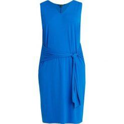 Lauren Ralph Lauren Woman DRESS Sukienka z dżerseju vivid cyan. Niebieskie sukienki z falbanami marki Lauren Ralph Lauren Woman, z dżerseju. Za 539,00 zł.