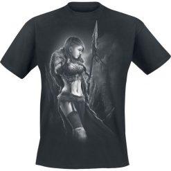 Toxic Angel Spirit of Huntress T-Shirt czarny. Czarne t-shirty męskie z nadrukiem Toxic Angel, m, z bawełny, z okrągłym kołnierzem. Za 99,90 zł.