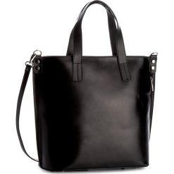 Torebka CREOLE - K10351  Czarny. Czarne torebki klasyczne damskie Creole, ze skóry, duże. Za 329,00 zł.