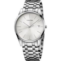 ZEGAREK CALVIN KLEIN TIME GENT K4N21146. Szare zegarki męskie marki Calvin Klein, szklane. Za 1199,00 zł.