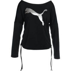 T-shirty damskie: Puma TRANSITION LIGHT COVER UP Koszulka sportowa black/big cat
