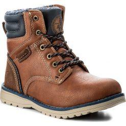 Buty zimowe chłopięce: Trapery ACTION BOY – CP40-FK-683000J Brązowy