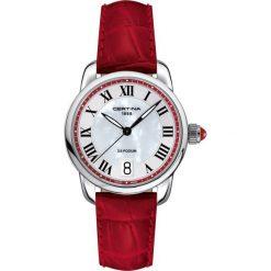 PROMOCJA ZEGAREK CERTINA DS PODIUM. Czarne zegarki damskie CERTINA, ze stali. W wyprzedaży za 1350,80 zł.
