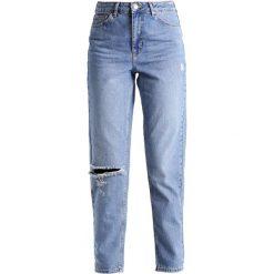 Topshop Jeansy Zwężane middenim. Niebieskie jeansy damskie marki Topshop, z bawełny. Za 229,00 zł.