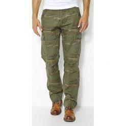Bojówki męskie: Spodnie bojówki moro 100% bawełna