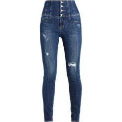 Miss Sixty GLENDA Jeans Skinny Fit blue denim. Niebieskie jeansy damskie Miss Sixty. W wyprzedaży za 401,40 zł.
