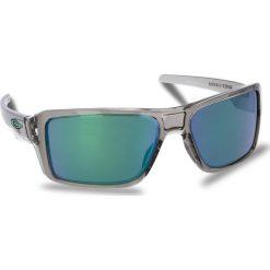 Okulary przeciwsłoneczne OAKLEY - Double Edge OO9380-0366 Grey Ink/Jade Iridium. Szare okulary przeciwsłoneczne męskie aviatory Oakley, z tworzywa sztucznego. W wyprzedaży za 479,00 zł.