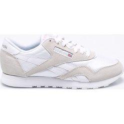 Reebok Classic - Buty Nylon White Light. Białe buty sportowe damskie reebok classic Reebok Classic, z gumy. W wyprzedaży za 219,90 zł.
