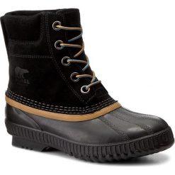 Buty zimowe chłopięce: Śniegowce SOREL – Youth Cheyanne II Lace NY2673 Black 010