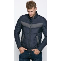 Guess Jeans - Kurtka. Szare kurtki męskie Guess Jeans, l, z aplikacjami, z jeansu. W wyprzedaży za 499,90 zł.