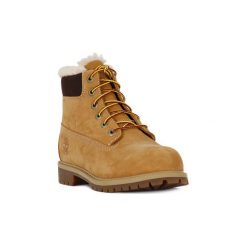 Kozaki i kalosze  Timberland  6INC BOOT. Brązowe buty zimowe damskie marki Timberland. Za 592,01 zł.