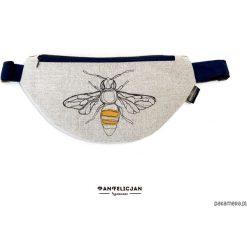 Torebki klasyczne damskie: nerka saszetka pszczoła – standard