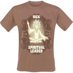 Rick And Morty Spiritual Leader T-Shirt brązowy. Niebieskie t-shirty męskie z nadrukiem marki Reserved, l, z okrągłym kołnierzem. Za 74,90 zł.