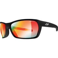 """Okulary przeciwsłoneczne męskie: Okulary przeciwsłoneczne """"Blast"""" w kolorze czarnym ze wzorem"""