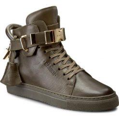 Sneakersy CARINII - B3770 I45-000-PSK-B67. Zielone sneakersy damskie Carinii, ze skóry. W wyprzedaży za 279,00 zł.