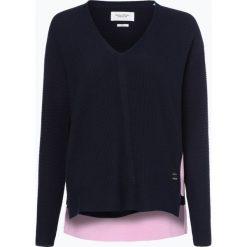 Swetry klasyczne damskie: Marc O'Polo Denim – Sweter damski, niebieski