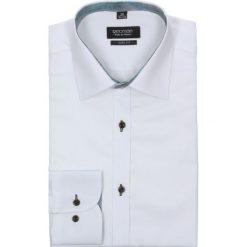 Koszula bexley 2261 długi rękaw slim fit biały. Białe koszule męskie na spinki Recman, na lato, m, z bawełny, z klasycznym kołnierzykiem, z długim rękawem. Za 49,99 zł.
