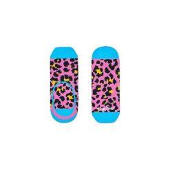Skarpetki LINER Happy Socks LEO06-3000. Szare skarpetki męskie marki Happy Socks, w kolorowe wzory. Za 19,53 zł.