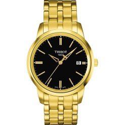 PROMOCJA ZEGAREK TISSOT T- CLASSIC DREAM T033.410.33.051.01. Czarne zegarki męskie TISSOT, ze stali. W wyprzedaży za 963,60 zł.